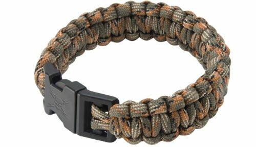 Bransoletka z paracordu Camo Elite Forces Survival Bracelet