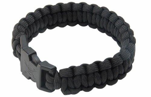 Bransoletka z paracordu Elite Forces Black Survival Bracelet