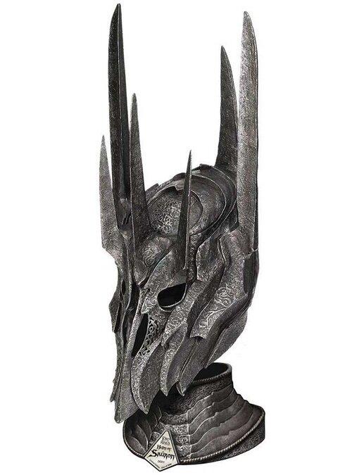 Hełm Saurona z filmu Władca Pierścieni - LOTR Helm Of Sauron