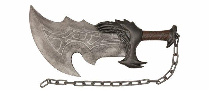 Miecz God of War Kratos Blade of Chaos Foam Sword