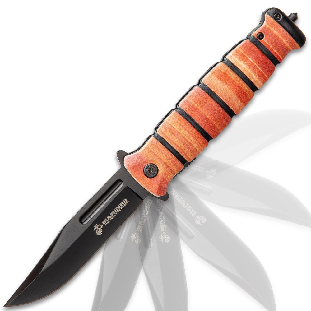 Nóż Składany USMC Combat Fighter Pocket Knife