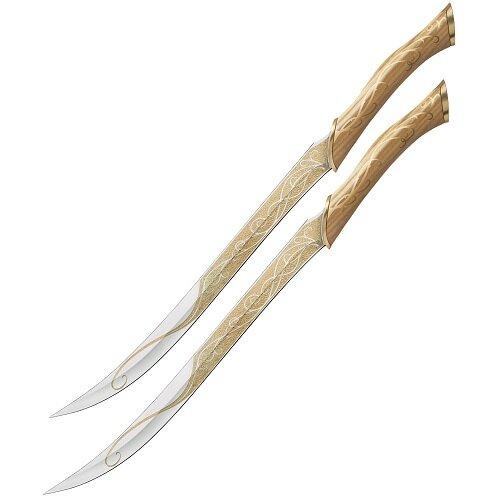 Noże Legolasa z filmu Hobbit - Fighting Knives of Legolas Greenleaf