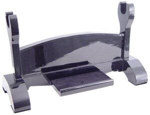 Stojak na miecz samurajski Black Laquered Single Katana Stand
