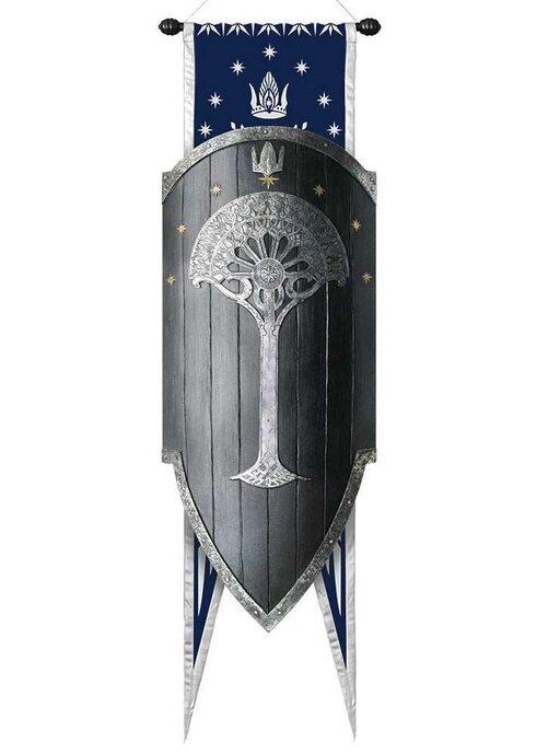 Tarcza Gondoru LOTR Second Age Gondorian War Shield