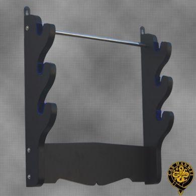 Wieszak na 3 miecze: 3 Sword Wall Rack