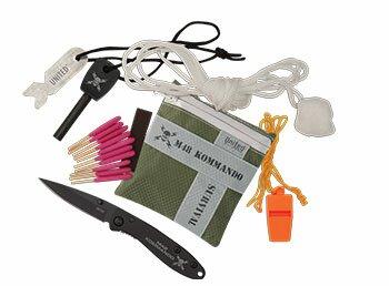 Zestaw survivalowy M48 Kommando 8-Pc Adventure Survival Kit